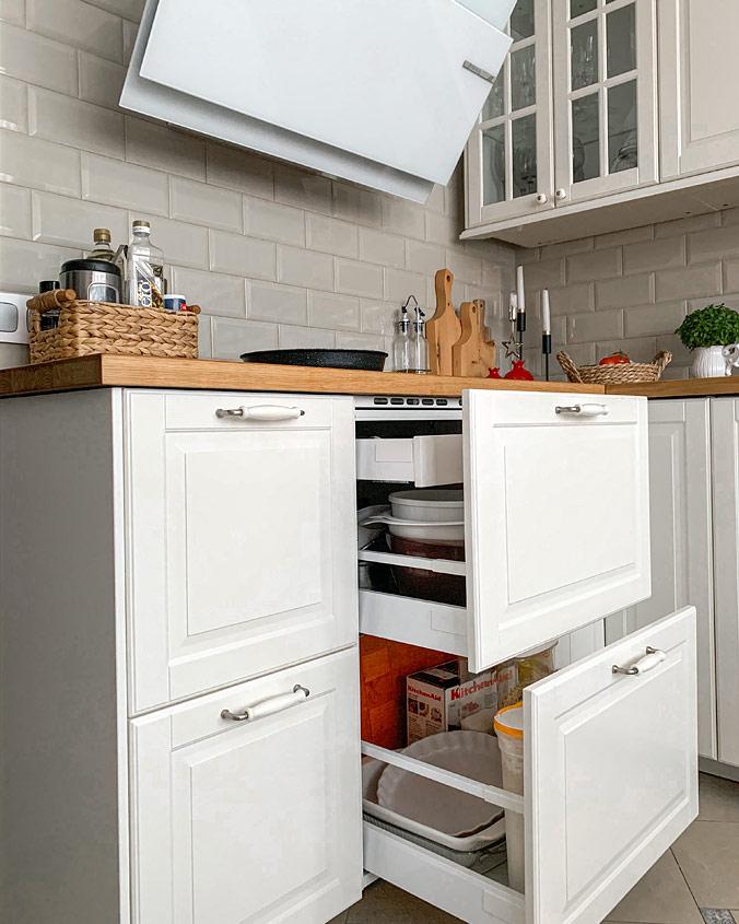 Моя кухня IKEA Будбин