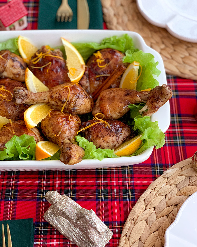 Курица в ароматной глазури