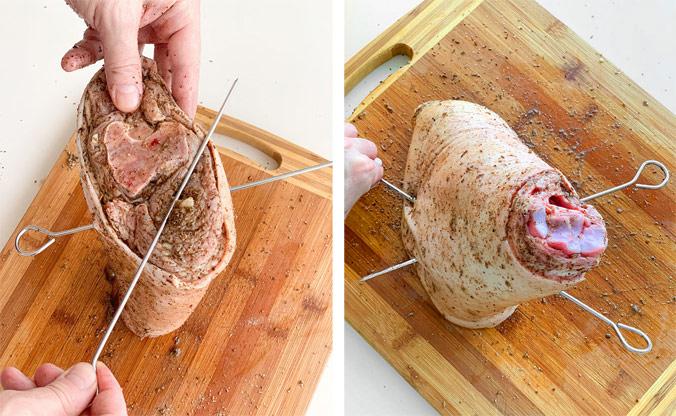 Свиная рулька с хрустящей корочкой и пивным соусом